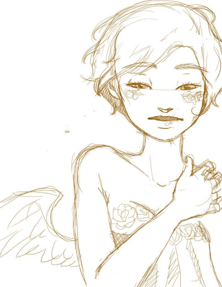 Ekara _Pino_Chilena_Ilustradora_Ilustrarama_Jonthorive_tradicional_digital_acuarelas_comisiones_colorinche_sketchart_sketch_character_design (5)