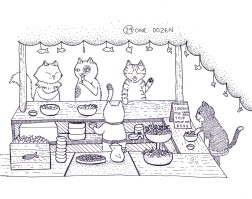 Ilustrarama_ilustration_jonthorive_graka_edinba_black_white_puntillismo_arte_dibujo_sketch_ilustratcion_naive_graciela (3)