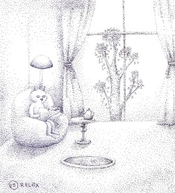 Ilustrarama_ilustration_jonthorive_graka_edinba_black_white_puntillismo_arte_dibujo_sketch_ilustratcion_naive_graciela (6)