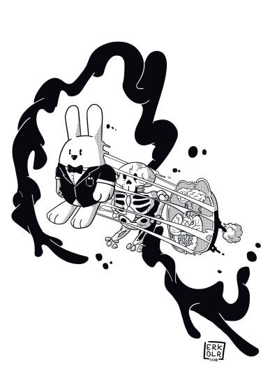 ilustrarama_erick_delarosa_grafica_emergente_ilustracion_black_white_tradicional_digital_artista_ilustrador_mexicano_mexico_disenador_sharpie__street_art_pencil_edinba_bellas_artes_inba_
