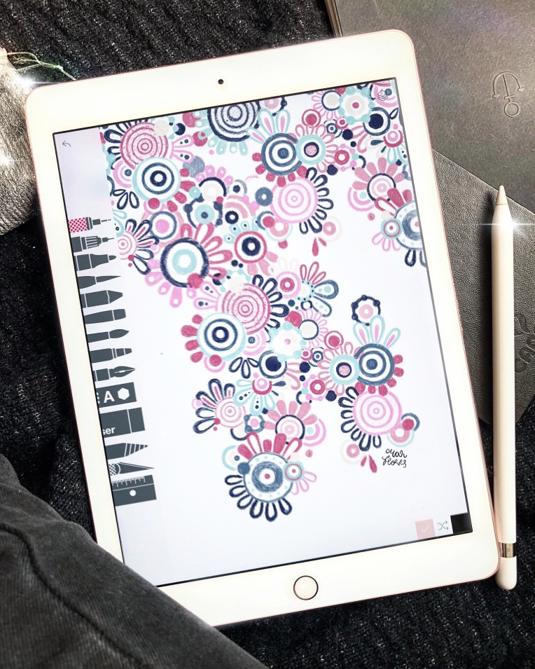 Ilustrarama_Mar_Flores_Flowers_Grafica_ilustracion_black_white_tradicional_digital_artista_ilustradora_mexicana_mexico_diseñadora_sharpie_pencil_edinba_siete_bellas_artes_ocho_ipad_appl